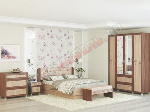 Спальня  «Сальвия» (комплектация 2)