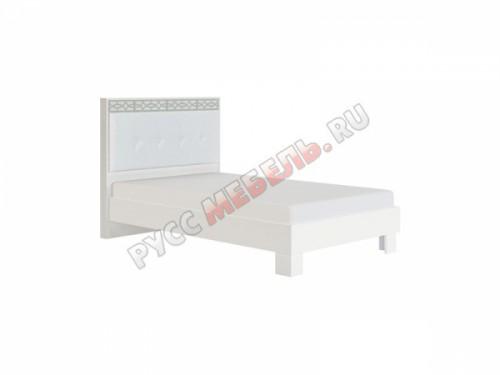 Кровать  «Белла № 1.1» (120 х 200) с мягкой спинкой