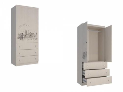 Шкаф с ящиками ШЯ-308 «Мийа 3»: