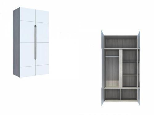 Шкаф 2-х створчатый «Палермо»: