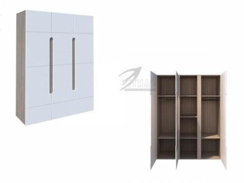 Шкаф 3-х створчатый «Палермо»: