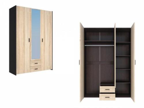 Шкаф 3-х створчатый «Венеция -1»: