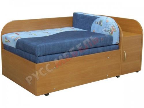 Детский диван «Балу 2М» с боковым ящиком