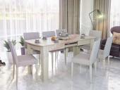 Стол обеденный раздвижной «Лира» (на заказ)