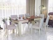 Стол обеденный раздвижной «Лира» (склад)