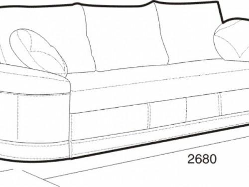 Размеры дивана: