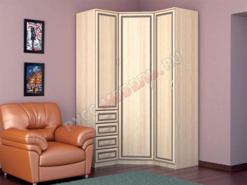 Набор шкафов угловой «Леон» (комплект 2)