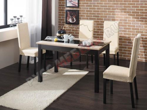 Стол «Диез Т7» + стулья «Этюд Т5»