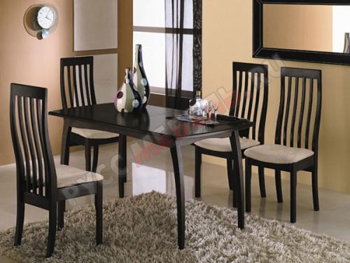 Стол Сонет Т1 со стульями Вагнер Т1 в цвете Венге: