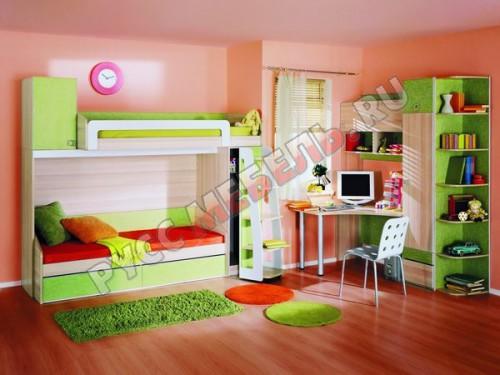 Большой выбор детских и молодежных комнат