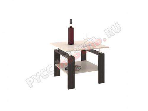 Журнальный стол Тип 2 Венге Цава и Дуб Молочный