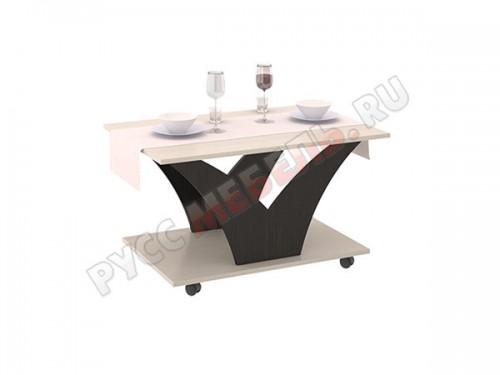 Журнальный стол Тип 4 Венге Цава и Дуб Молочный