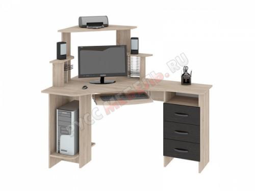 Компьютерный стол «Бумеранг-3Н» (левый)