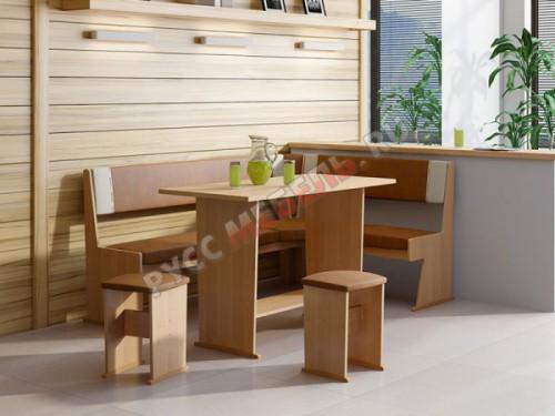 Кухонный уголок «Амиго» (ольха)
