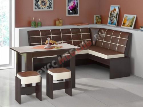 Кухонный уголок «Кантри Т1» исп.2 (венге)