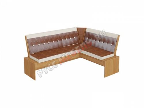 Кухонная скамья «Кантри Т1» исп.1 (ольха)