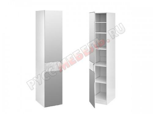 Шкаф с 1 зеркальной дверью левый ТД 193.07.01 + ТД 193.07.12L
