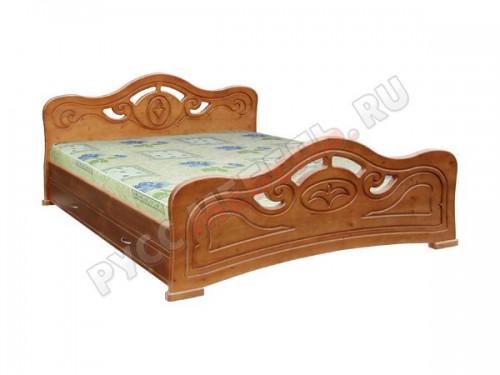 Деревянная кровать «Кармен»