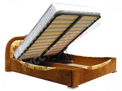 Большой ящик для постельных принадлежностей под кроватью: