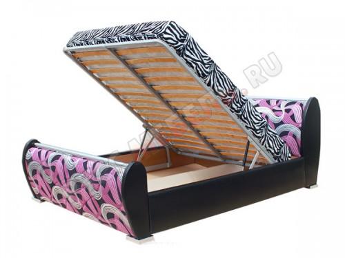 Интерьерная кровать «Хохлома»