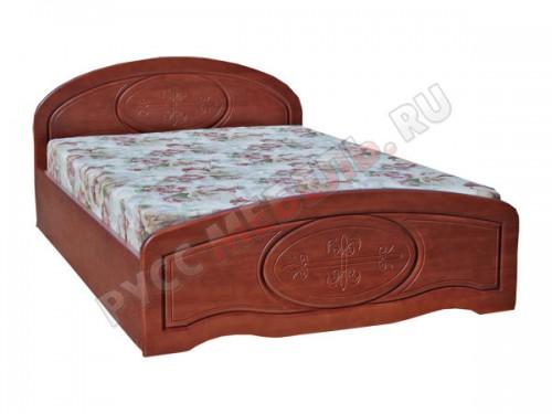 Кровать из массива сосны: