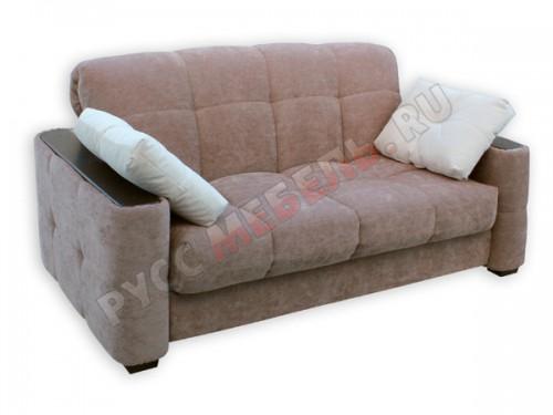Прямой (неугловой) диван аккордеон Тахко: