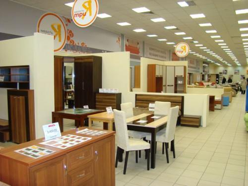 15 января 2011 открылась бренд-секция ТриЯ на втором этаже Мегаторга