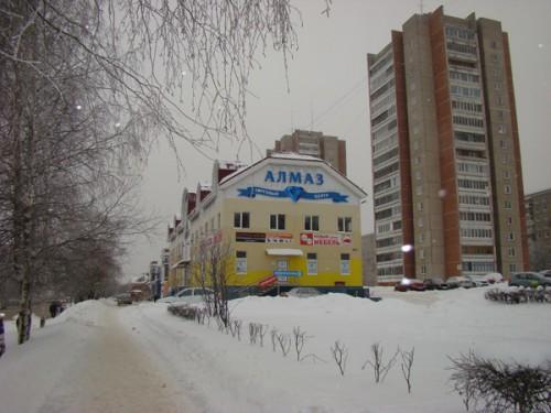 ТЦ «Алмаз», 2-й этаж, салон «РУССМЕБЕЛЬ»: