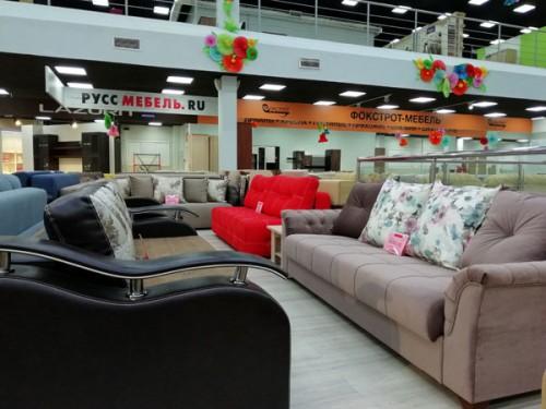 «Руссмебель.РУ» в г. Владимир, ТК «ТАНДЕМ», ЦМ «+Мебель», 2-й этаж:
