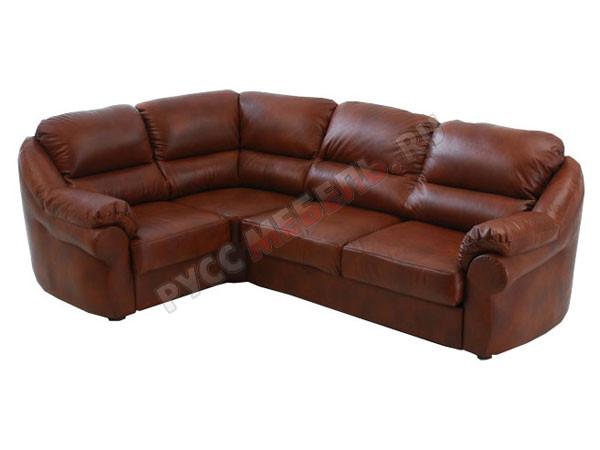 онлайн мебель кожаный угловой диван